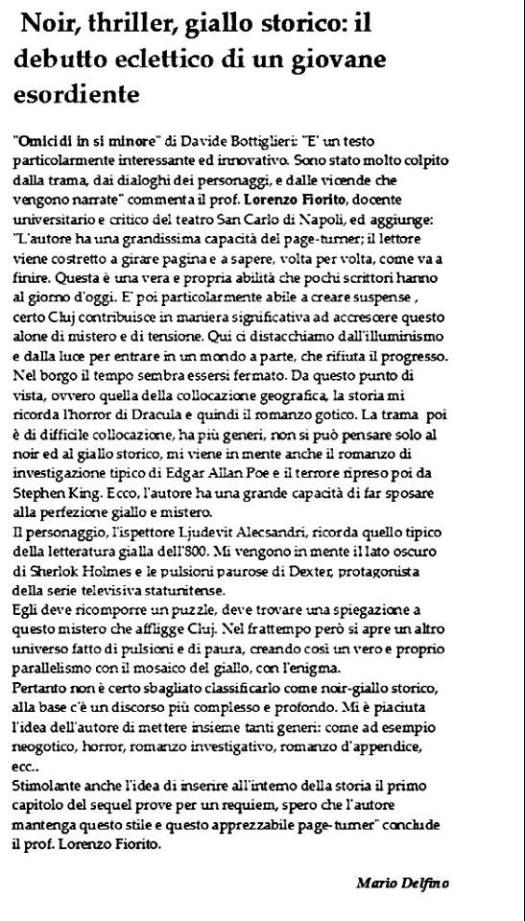 Articolo - Mario Delfino