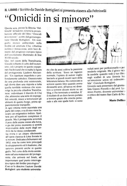 Le Cronache - Mario Delfino